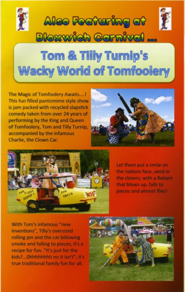 Carnival Tomfoolery