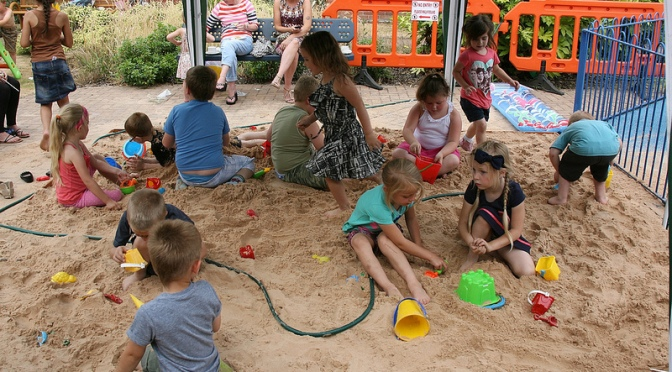 Holiday fun in the sun at Blakenall-on-the-Beach