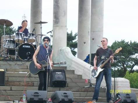 Bands on the Beacon (pic: Walsall Council)