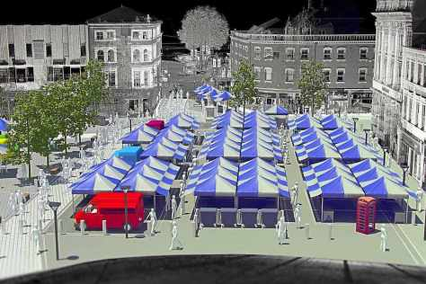 New Walsall Market digital artist's impression (pic: Walsall Council)