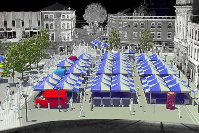 Council has cunning plan for Walsall Market