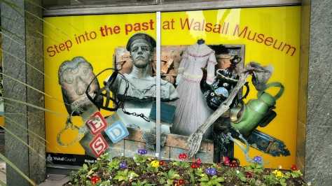 Walsal Museum graphic panel (pic: Stuart Williams)