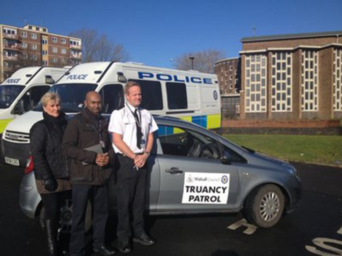 Council and police target truants