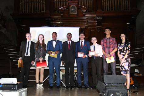 Walsall Youth Parliament on stage in Walsall Town Hall (pic: Walsall Council)