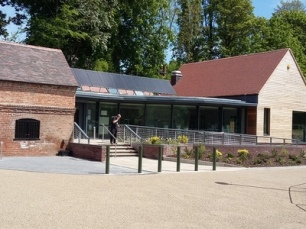 Walsall Arboretum's new visitor centre (pic Walsall Council)