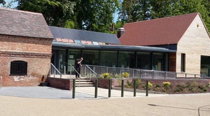 Walsall arboretum visitor centre opens