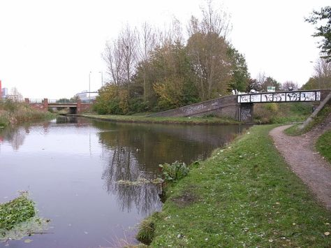 Birchills Canal Junction, Walsall (pic by Oosoom, c/o Wikipedia)