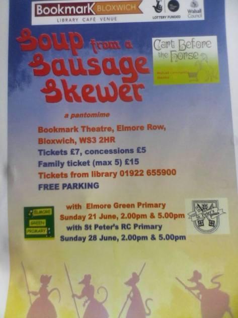 Sausage Skewer Poster