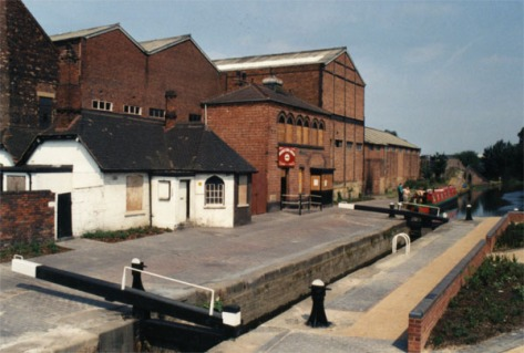 The former Birchills Canal Museum, 1990