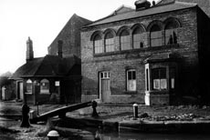 The old Boatman's Rest mission building (later Canal Museum)