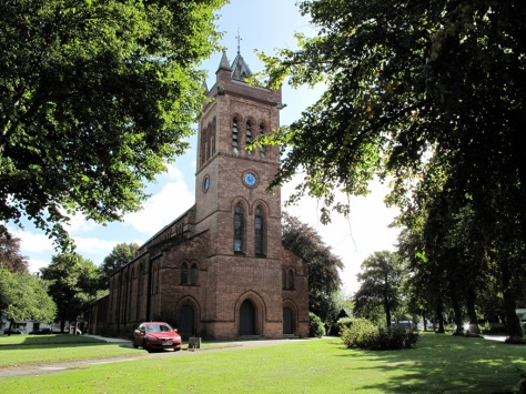 All Saints Church in Summer (pic Stuart Williams)