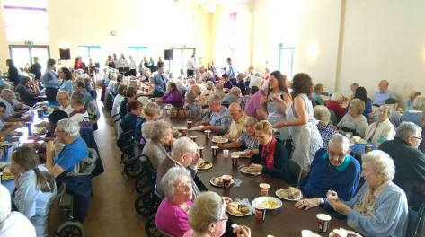 Bloxwich Senior Citizens Party 2015 (pic Roy Peace)