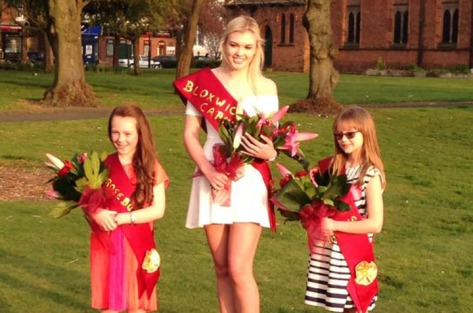 New Bloxwich Carnival Royalty for 2015