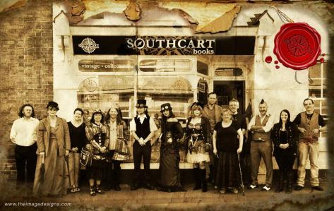 Southcart Books' last event was a splendid Steampunk Day!
