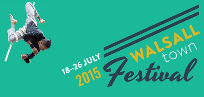 Walsall Town Festival begins today!