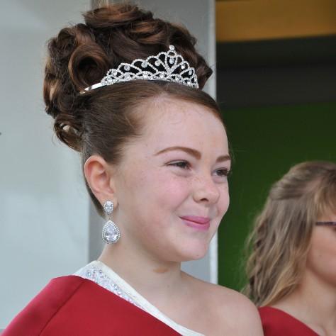 2015 Rosebud Lula Leonard was crowned by the Mayor of Walsall, Cllr Angela Underhill