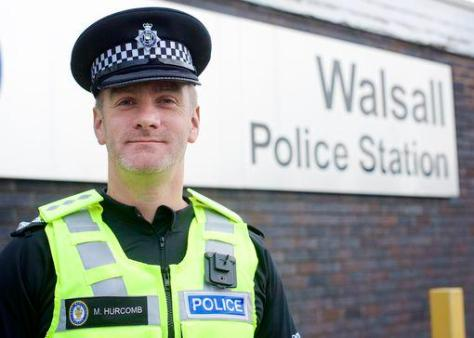 Chief Inspector Martin Hurcombe (pic courtesy Walsall Police)