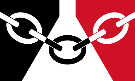 The Black Country flag