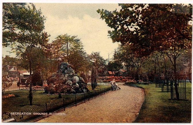 Bloxwich Park, early 1930s