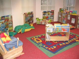Early Years Corner at Blakenall Library