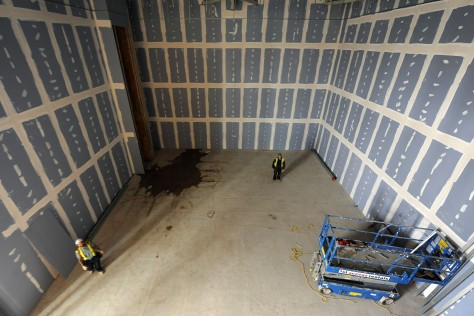 Inside the new The Light cinema under construction (pic courtesy Express & Star)