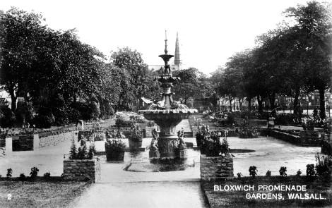 Promenade Gardens, Bloxwich, c1931