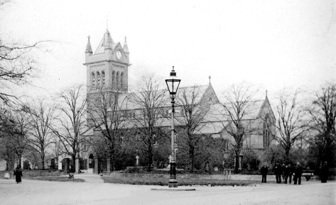 All Saints Church, Bloxwich, late 1800s