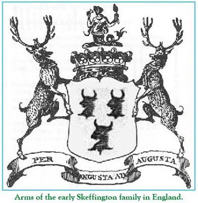 Arms of the Skeffington family