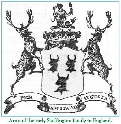 Arms of the Skeffington family