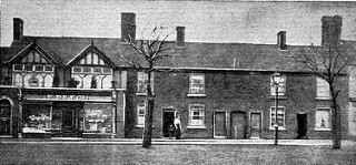 Part of the former Bloxwich Workhouse, c1940 (now site of shopper's car park in Elmore Row)