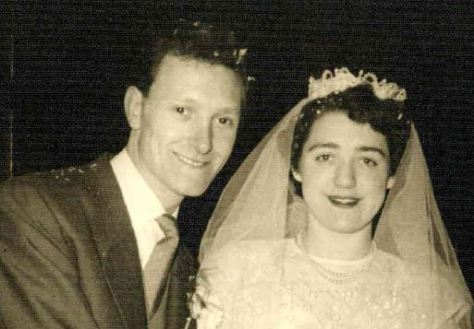 1956 was a vintage year for Ronald and Beryl Beier!