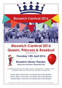 Bloxwich Carnival Selection Poster (click to enlarge)