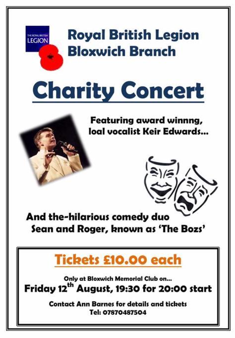 Bloxwich RBL Concert