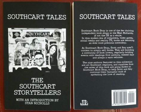 The cover of 'Southcart Tales'