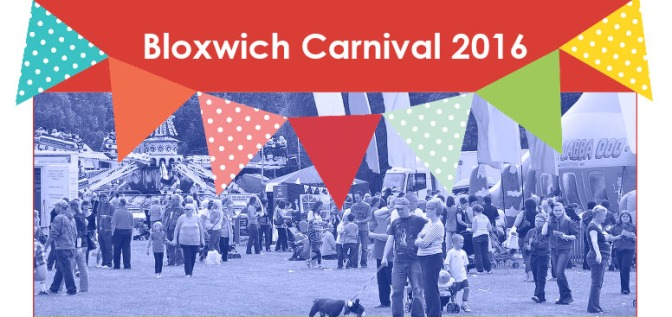 It's Carnival time in Bloxwich this weekend!