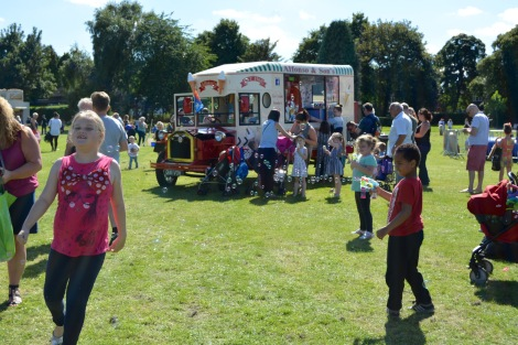 Great to see so many families enjoying the Bloxwich Carnival atmosphere!