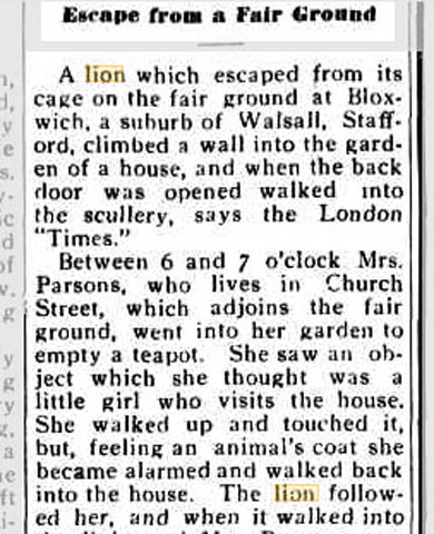 From The Delegate Argus (Australia) 31 Mar 1932