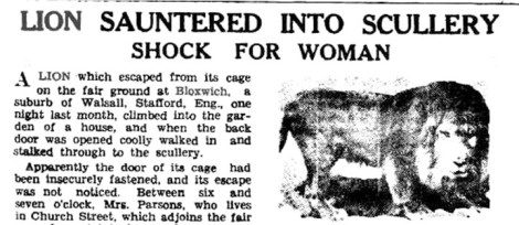 From The World's News, Australia, 30th March 1932