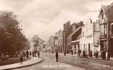 Historic Bloxwich High Street