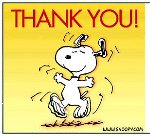 Snoopy Thank You