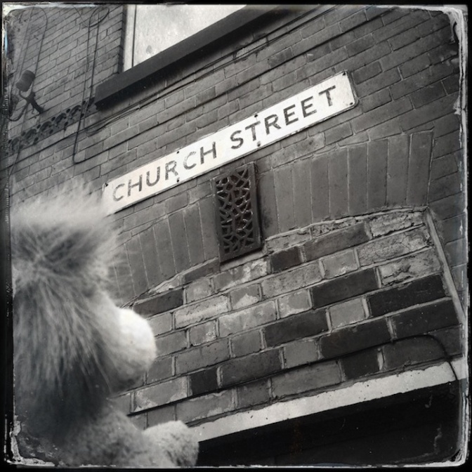 The Lion went down to Church Street