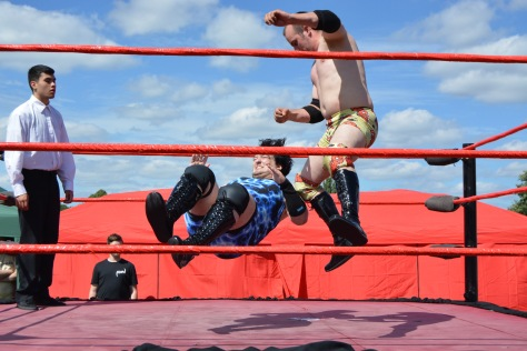 Wrestling action aplenty from Alternative Wrestling World