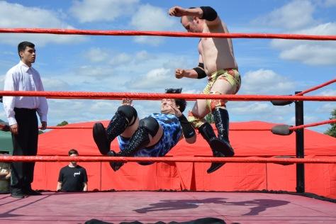 Wrestling action aplenty from Alternative Wrestling World