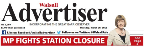 Walsall Advertiser final issue