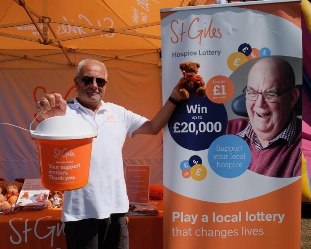 Bryan Tilt, fundraiser for St Giles Hospice Walsall