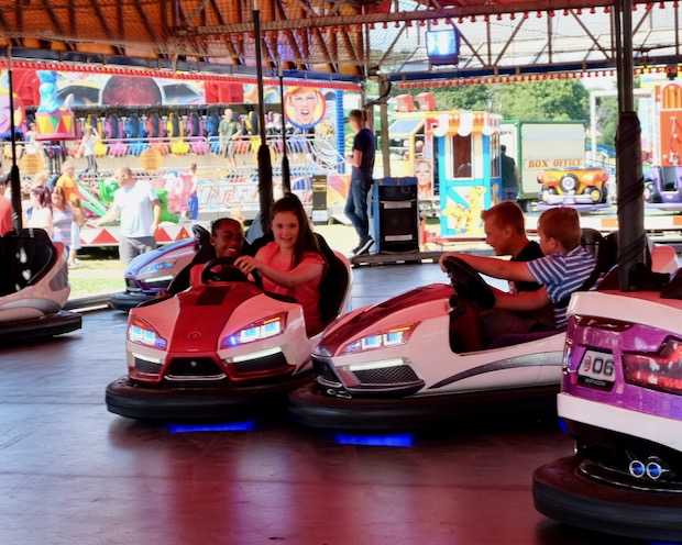 Crash-bang-wallop on the Dodgems!